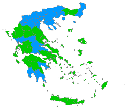 map ΕΚΛΟΓΕΣ 2009