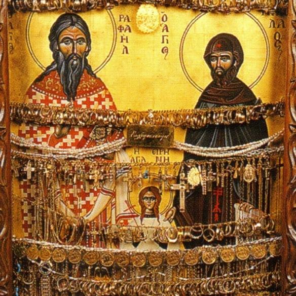 Αγιος Ραφαήλ Γρίβας (αφιερώματα)